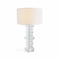 Go Home Stacked Acrylic Table Lamp
