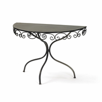 Go Home Swirley Demilune Table