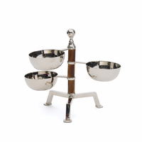Go Home Tiered Bamboo Bowl Stand