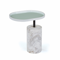 Go Home White Scarlett Side Table