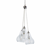 Go Home Triple Bell Pendant Light