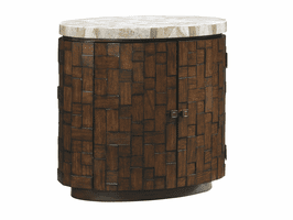 Island Fusion TH-556-950 Banyan Oval Accent Table