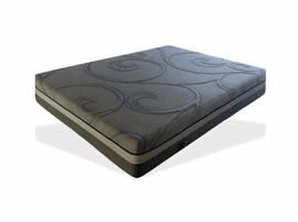 J & M Furniture Luxury Gel Memory Foam Mattress Twin