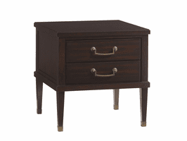 Lexington Kensington Place LH-708-952 Chandler Drawer Lamp Table