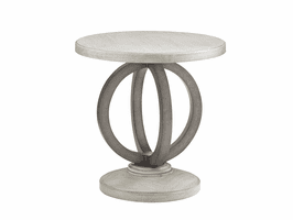 Lexington Oyster Bay LH-714-951 Hewlett Round Side Table
