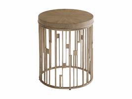 Lexington Shadow Play LH-725-951 Studio Round Accent Table