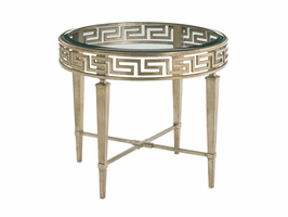 Lexington Tower Place LH-706-951 Aston Round Lamp Table