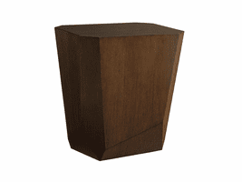 Lexington Zavala LH-790-952 Tangent Faceted Accent Table