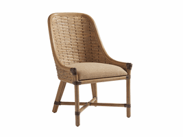 Los Altos TH-566-882-01 Keeling Woven Side Chair - Ships Assembled