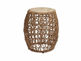 Los Altos TH-566-954 Madrid Woven Accent Table
