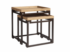 Los Altos TH-566-958 Dolca Vita Nesting Tables