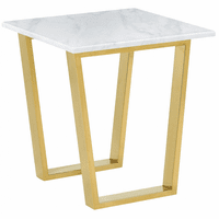 Meridian Furniture Cameron Gold End Table