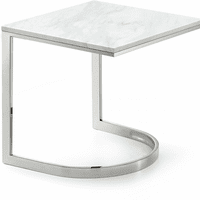 Meridian Furniture Copley Chrome End Table