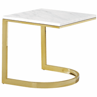 Meridian Furniture London Gold End Table