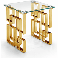 Meridian Furniture Pierre Gold End Table