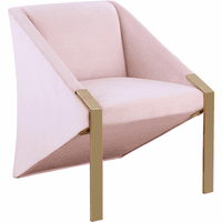 Meridian Furniture Rivet Accent Chair Pink