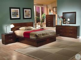 Jessica King  Platform Bedroom Set - 200711