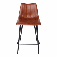 Moe's Home Furniture Alibi Counter Stool Brown-m2