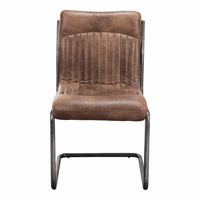 Moe's Home Furniture Ansel Dining Chair Light Brown-m2