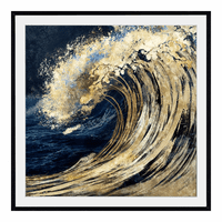 Moe's Home Furniture Awesome Wave Wall Decor