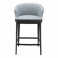 Moe's Home Furniture Beckett Counter Stool Blue