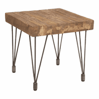 Moe's Home Furniture Boneta End Table Natural