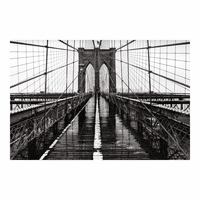 Moe's Home Furniture Brooklyn Bridge Wall Decor