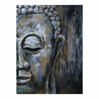Moe's Home Furniture Buddha Face Wall Decor