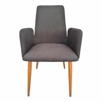 Moe's Home Furniture Chesney Dining Chair Grey
