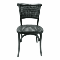 Moe's Home Furniture Churchill Dining Chair Antique Black-m2