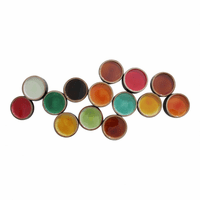 Moe's Home Furniture Colorful Metal Circles