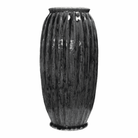 Moe's Home Furniture Corbis Vase Dark Blue