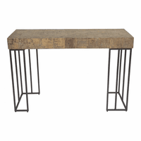 Moe's Home Furniture Crosscut Console Table