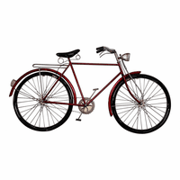 Moe's Home Furniture Cruiser Bike Red
