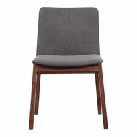 Moe's Home Furniture Deco Dining Chair Grey-m2