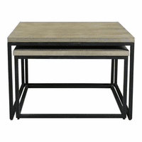 Moe's Home Furniture Drey Square Nesting Coffee Tables Set Of