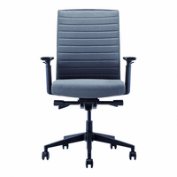 Moe's Home Furniture Dwight Office Chair Grey