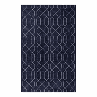 Moe's Home Furniture Fandango Rug 8x10 Blue Ivory