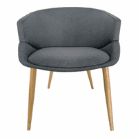 Moe's Home Furniture Finsbury Dining Chair Grey