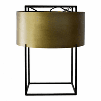 Moe's Home Furniture Franco Table Lamp Gold
