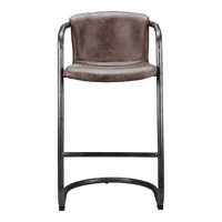 Moe's Home Furniture Freeman Barstool Light Brown-m2