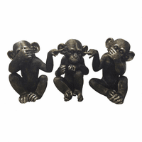 Moe's Home Furniture He Did It Chimps Set Of 3