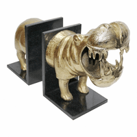 Moe's Home Furniture Hippo Bookends