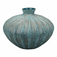 Moe's Home Furniture Hydra Vase Blue