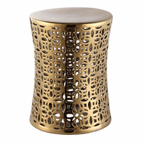 Moe's Home Furniture Ionian Stool Gold