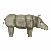 Moe's Home Furniture Iron Hippopotamus