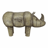 Moe's Home Furniture Iron Rhinoceros