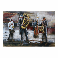 Moe's Home Furniture Jazz Quartet Wall Decor