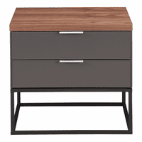 Moe's Home Furniture Leroy Side Table With Drawers