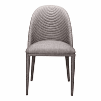 Moe's Home Furniture Libby Dining Chair Grey-m2